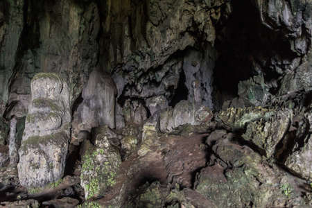 Interior of Fairy Caves in Sarawak state, Malaysia Banque d'images