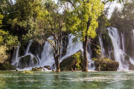 Kravica waterfalls in Bosnia and Herzegovina