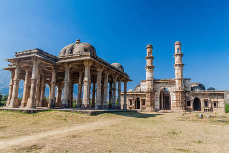 Kevda Masjid mosque with a cenotaph in Champaner historical city, Gujarat state, India