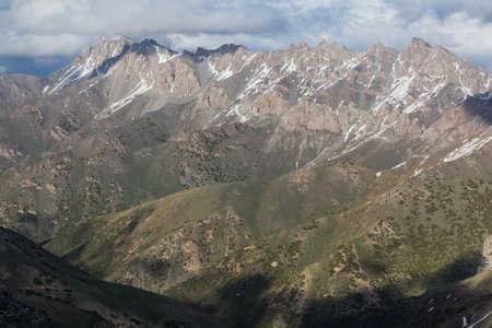 Mountains of southern Kyrgyzstan near Sary-Tash village