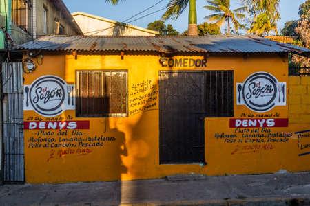 JARABACOA, DOMINICAN REPUBLIC - DECEMBER 9, 2018: Comedor (eatery) El Sazon in Jarabacoa, Dominican Republic