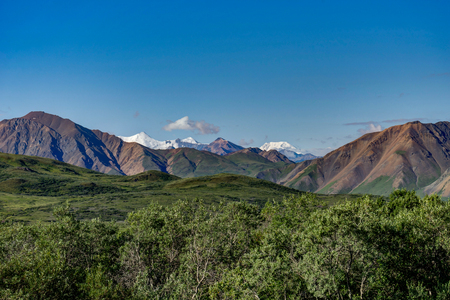Denali National Park in Alaska United States of America