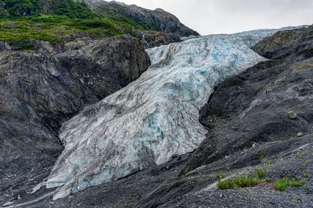 Exit Glacier in Seward in Alaska United States of America Stock Photo