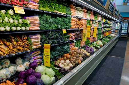 Vegetables in Super Market