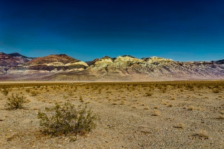 desert ecosystem: Nature View Artis Drive in Death Valley National Park California Stock Photo