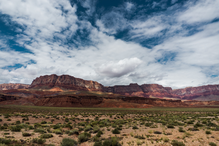 View towards vermillion cliffs Arizona USA Banco de Imagens