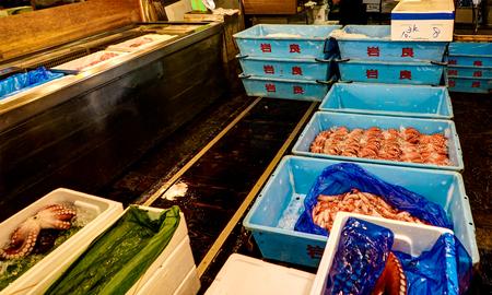 Tsukiji Fish Market Tokyo