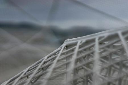 Sou Fujimoto with a frame structure in Naoshima Island