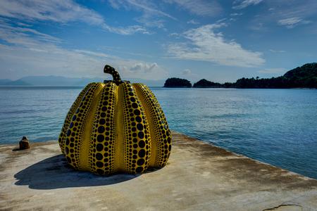 Naoshiam Island Art Piece Museum Japan Banque d'images