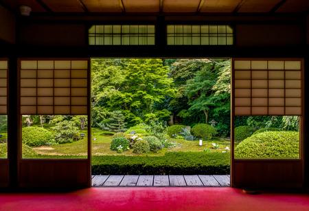 Japońska Świątynia Unryu w Kioto