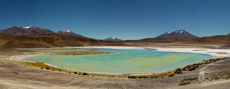 Panorama Laguna Verde Altiplano Bolivia