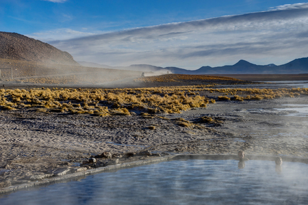 Hot Springs Altiplano Bolivia