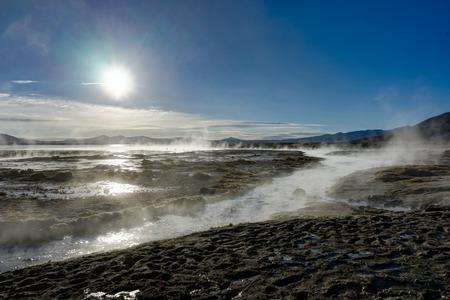 Hot Springs Altiplano Bolivia
