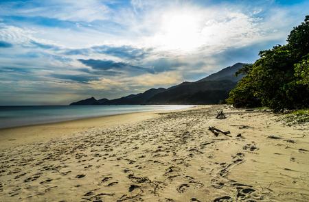 Lopes Mendes Beach in Ilha Grande south of Rio de Janeiro Brazil Stock Photo