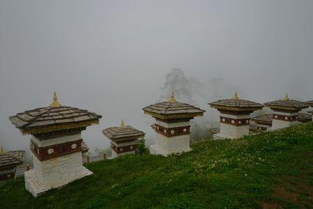 Dochula pass Bhutan Himalaya