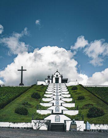 Nossa Senhora da Paz Our Lady of Peace Chapel , Vila Franca do Campo, Sao Miguel, Portugal