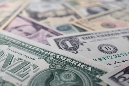 dollar Notes Banco de Imagens