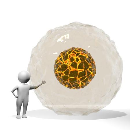 energetics: 3D Man - Water   Magma