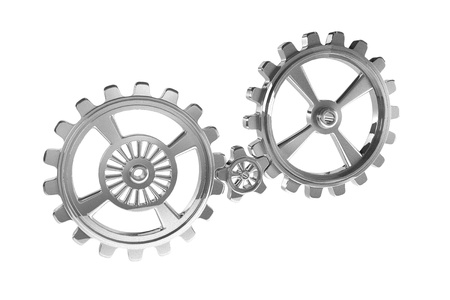 Cogwheels - Chrome photo