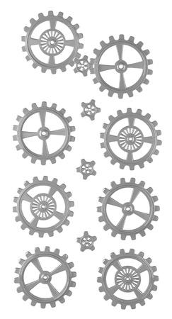 -設定 - 分離の歯車