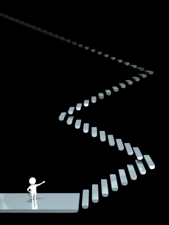 3D Man - Stairway - Obscurity