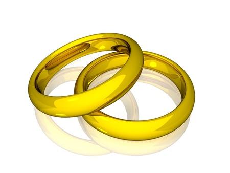 alliances: Wedding Rings - Gold