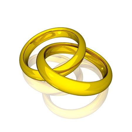 alliances: Wedding - Gold Rings