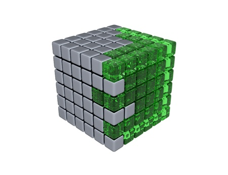 amalgamate: 3D Cube - Assembly