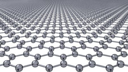 Graphene - Regular Hexagonal Pattern - 3D