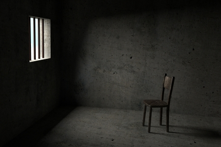 Detained - Interior Of A Prison Cell - 3D