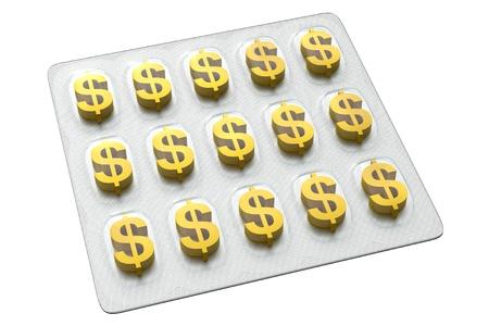 Pharmaceutical Business - Dollar Archivio Fotografico