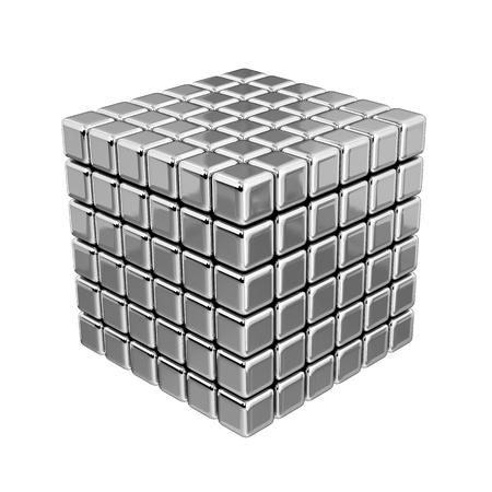 3D Metallic Kubussen