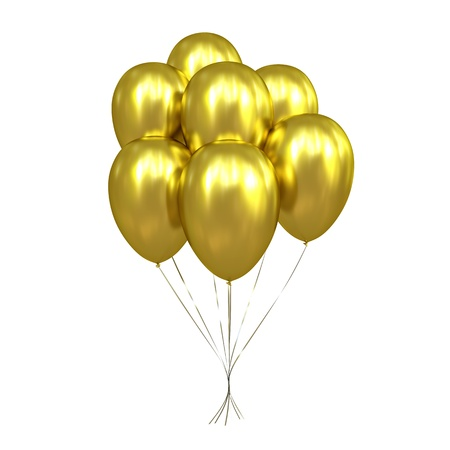 air baloon: 7 Golden Balloons