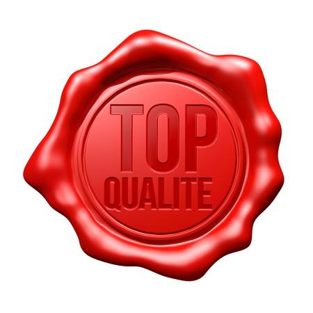 Red Wax Seal   Top Qualité