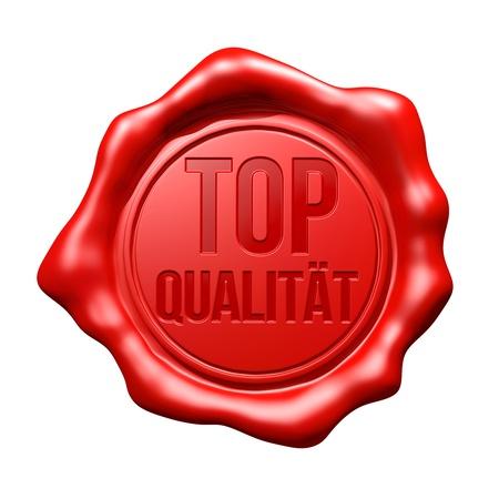 signet: Red Wax Seal   Top Qualität