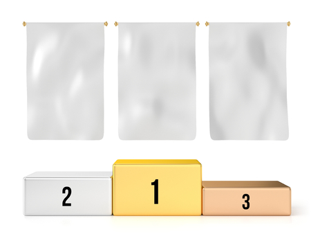 3 空白フラグと共に表彰台