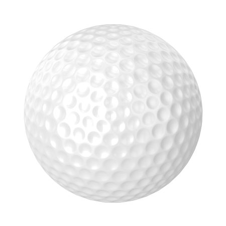 Golf Ball Isolated photo