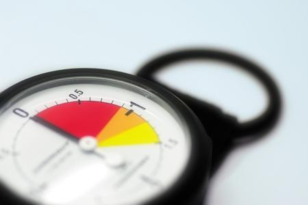 altimeter: Altimeter - Needle on Zero