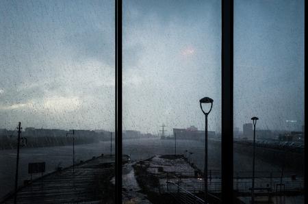 Rainy vision