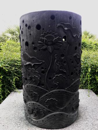 lotus lantern: Lamp