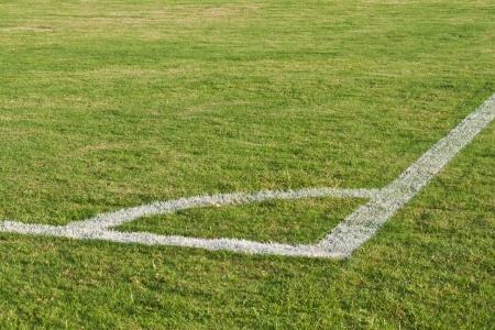 Corner of Football (soccer) field