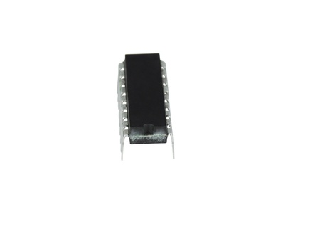 IC - Integrated Circuit in white background
