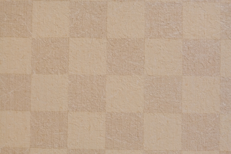 Square  brown grid texture of wallpaper Stock Photo