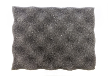 Closeup of grey acoustic foam for background Stock Photo - 16105323