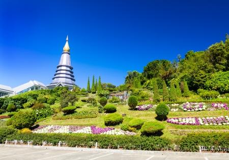 Pagoda at Doi-Inthanon Chaingmai, Phra Maha Dhatu Nabhapol Bhumisiri