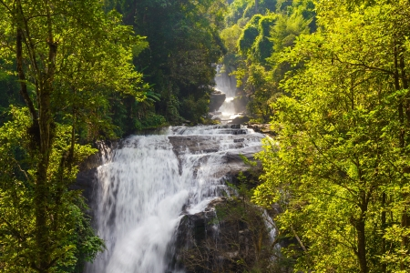 Siritarn waterfall in doi-inthanon, Chiangmai photo