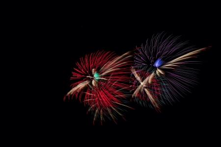 Fireworks for celebration Stock Photo