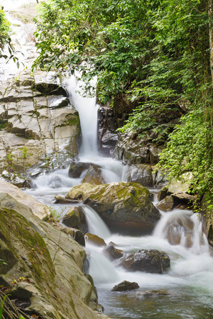 Soi dao waterfall in Chanthaburi Thailand photo