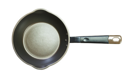 non stick: Isolated non stick pan