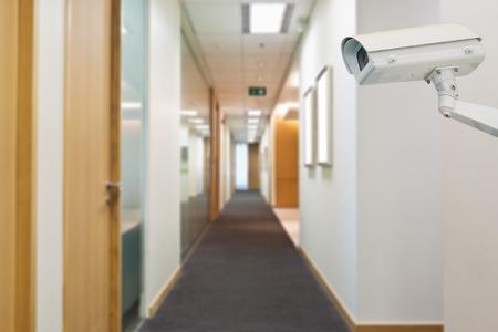 Камера видеонаблюдения в офисе для безопасности
